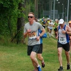 Pärnumaa Võidupüha maraton - Ainars Skrubis (141), Enoch Dixon (225)