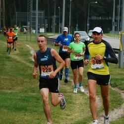 Pärnumaa Võidupüha maraton - Sven Gnezdov (228), Meelika Muiso (340), Rait Mänd (348)