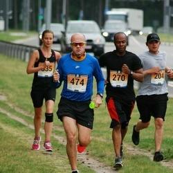 Pärnumaa Võidupüha maraton - Ulises Aguiar (204), Keith Kershaw (270), Kaido Marjak (474)