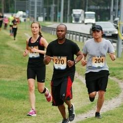 Pärnumaa Võidupüha maraton - Ulises Aguiar (204), Keith Kershaw (270)