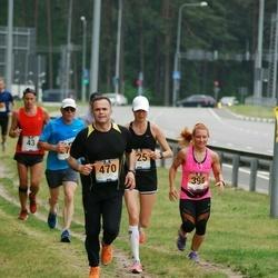 Pärnumaa Võidupüha maraton - Monika Riivald (396), Imre Taveter (470)
