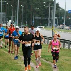 Pärnumaa Võidupüha maraton - Kristel Luur (325), Silver Paur (370), Monika Riivald (396)