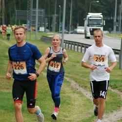 Pärnumaa Võidupüha maraton - Einar Elbing (226), Martin Kallas (259), Imbi Soome (413)