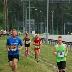 Pärnumaa Võidupüha maraton - Rauno Merila (96), Andrew Calbick (220), Laura Koppas (281)