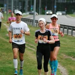 Pärnumaa Võidupüha maraton - Stanislav Štõkov (416), Signe Uibo (439), Järvi Valter (447)