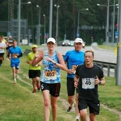 Pärnumaa Võidupüha maraton - Andres Järvpõld (46), Elise Saarna (402)