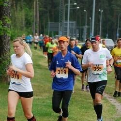 Pärnumaa Võidupüha maraton - Rando Lillepa (319), Raivo Olgo (355), Liisbet Puust (379)