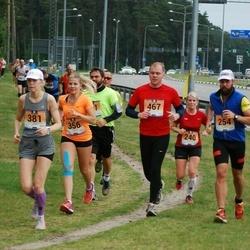 Pärnumaa Võidupüha maraton - Valter Kaleta (254), Mailiis Ollino (356), Ilona Põld (381), Hannes Roosaar (467)
