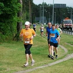 Pärnumaa Võidupüha maraton - Toomas Dettenborn (224), Valdek Must (341)