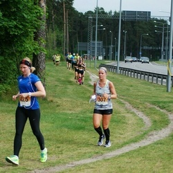 Pärnumaa Võidupüha maraton - Maarja Lauk (307), Anne-Liis Tamm (425)