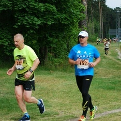 Pärnumaa Võidupüha maraton - Alari Uusna (442), Imre Viin (452)