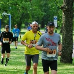 Pärnumaa Võidupüha maraton - Tõnu Koppel (283), Kaido Aaslaid (481)