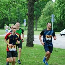 Pärnumaa Võidupüha maraton - Mattias Blehner (218), Erko Sergejev (473)