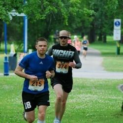 Pärnumaa Võidupüha maraton - Rene Bernard (215), Marko Piirlaid (374)