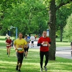 Pärnumaa Võidupüha maraton - Madis Kuuskmann (293), Annika Võigas (457)