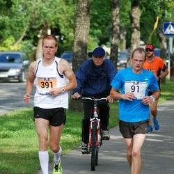 Pärnumaa Võidupüha maraton - Raul Luik (91), Eero Raudsepp (391)