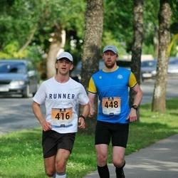 Pärnumaa Võidupüha maraton - Stanislav Štõkov (416), Lauri Vare (448)