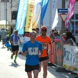 Pärnumaa Võidupüha maraton - Raul Luik (91), Olavi Talu (424)