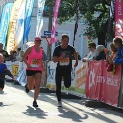 Pärnumaa Võidupüha maraton - Timo Arula (213), Kati Poolma (377)