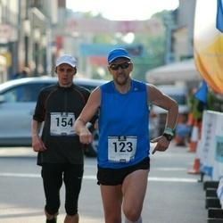 Pärnumaa Võidupüha maraton - Lennart Pulk (123), Tauno Tanilas (154)