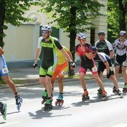 Pärnu Rulluisumaraton - Priit Kaasik (47), Mart Roosimaa (53), Peteris Petersons (57)