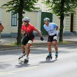 Pärnu Rulluisumaraton - Dzintars Sarmulis (11), Andrus Undrest (31)