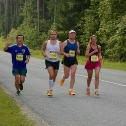 Südasuve Maraton - Hiroyuki Hasegawa (1304), Aare Huik (1305), Tiina Tartes (1357), Virgo Laansoo (1362)