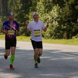 Südasuve Maraton - Margus Kaegas (1310), Raivo Kaegas (1311)