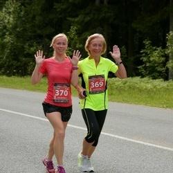 Südasuve Maraton - Leelo Veski (369), Piret Veski (370)