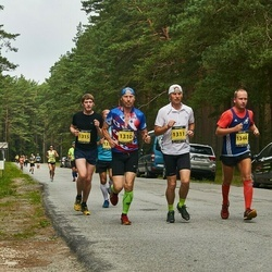 Südasuve Maraton - Margus Kaegas (1310), Raivo Kaegas (1311), Oleg Kozlov (1315), Kaarel Tõruvere (1344)