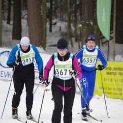 42. Tartu Maraton - Kaimar Kittus (2918), Külli Nõmm (3671), Aare Veemees (6357)