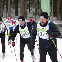 42. Tartu Maraton - Jaanus Uiga (2833), Anar Laur (3259)