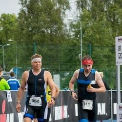 IRONMAN 70.3 Otepää - Chris Hewson (211), Aivar Rosenberg (362)