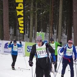 42. Tartu Maraton - Marko Pärnpuu (5891), Ahti Asmann (6188)