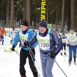 42. Tartu Maraton - Ando Reila (2986), Uku Hänni (3700)