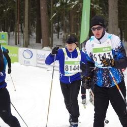 42. Tartu Maraton - Rivo Jänes (6143), Aare Ärmpalu (8144)