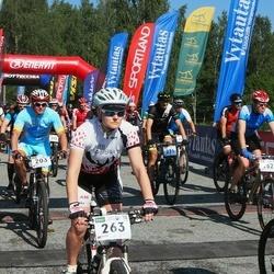 17. Otepää Rattamaraton - Gunnar Eensoo (203), Aivar Arik (262), Maiken Haarde (263)