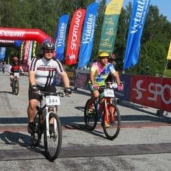17. Otepää Rattamaraton - Aare Allaje (280), Allar Laugesaar (344)