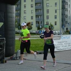 Tartu Suvejooks - Liis Park (823), Aet Kruusimägi (863)