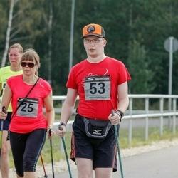Tartu Suvejooks - Annika Nõmme (25), Cätlin Kinz-Kiens (53)