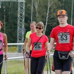 Tartu Suvejooks - Annika Nõmme (25), Jarmo Rohtla (29), Cätlin Kinz-Kiens (53)