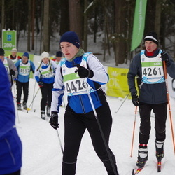 42. Tartu Maraton - Andre Karja (4261), Anu Lepik (4426)