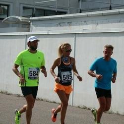 44. jooks ümber Ülemiste järve - Aigar Ojaots (584), Laura Ojaots (585)