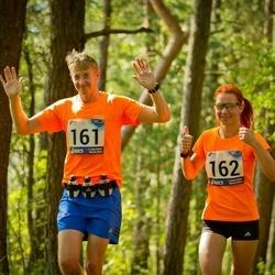 44. jooks ümber Ülemiste järve - Aimur Kütt (161), Viktoria Kütt (162)