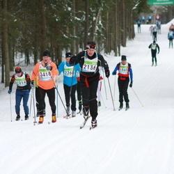 42. Tartu Maraton - Arno Anton (2136), Peeter Liik (2214), Raul Kangur (3418)