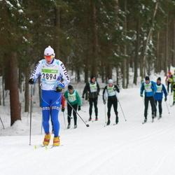 42. Tartu Maraton - Tarmo Hõbe (2894), Arlis Pipenberg (3278)