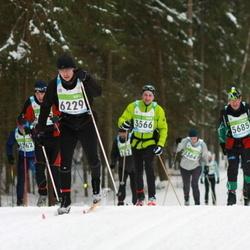 42. Tartu Maraton - Andero Safronov (3566), Markku Laaksonen (5685), Allan Ojas (6229)
