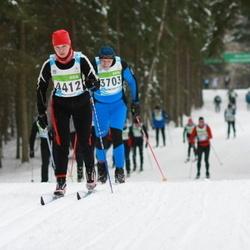 42. Tartu Maraton - Adu Mändmets (3703), Kadri Alttoa (4412)
