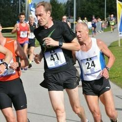 Jüri Jaansoni Kahe Silla jooks - Ago Veilberg (24), Priit Talu (41)