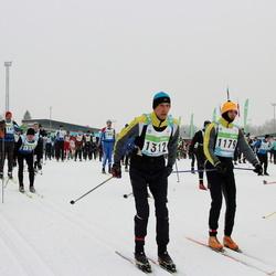 42. Tartu Maraton - Anatoli Babkin (1179), Vello Ojamäe (1312)